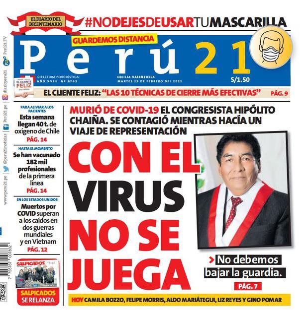 Con el virus no se juega
