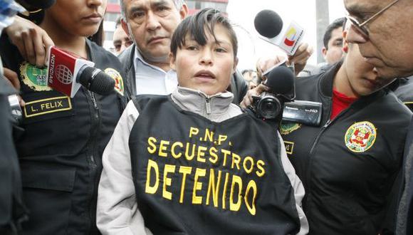 Alejos Dominguez fue capturada el pasado 22 de setiembre. (Perú21)
