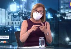 Mónica Delta afirma que desde ahora entrevistará con mascarilla para evitar un contagio de COVID-19 | VIDEO