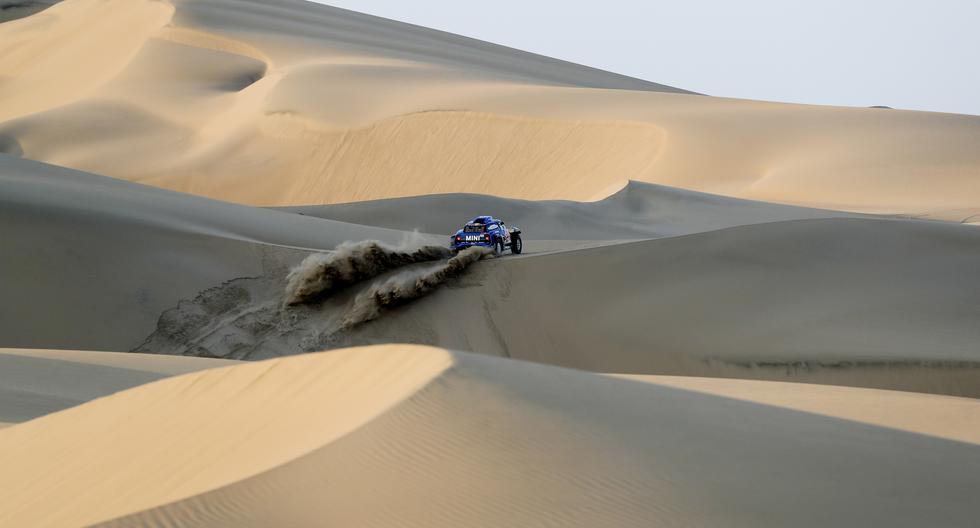 Mira las mejores postales del segundo día de competencia en el Rally Dakar 2019. (AFP)