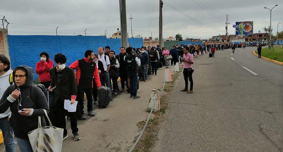 La Cancillería indicó que se gestionarán albergues y productos de primera necesidad a los connacionales que no cuenten con los recursos para mantenerese durante el cierre de fronteras. (Foto: GEC)