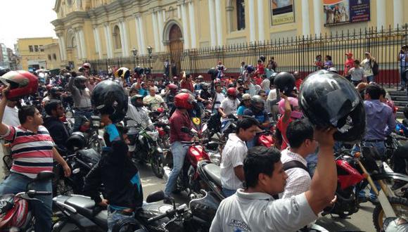 Motociclistas peruanos saldrán a las calles a reclamar el libre tránsito. (Perú21/Referencial)