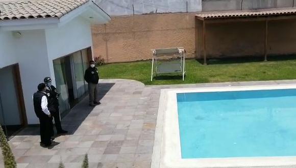 Este inmueble de La Molina es uno de los incautados por las autoridades. (Foto: Policía Nacional)