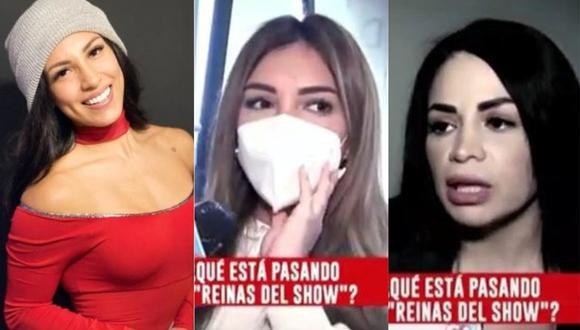 """Paula Manzanal y Leslie Moscoso hablan sobre inconvenientes de Allison Pastor con producción de """"Reinas del Show"""" . (Foto: @allisonpastorromero/captura de pantalla)"""