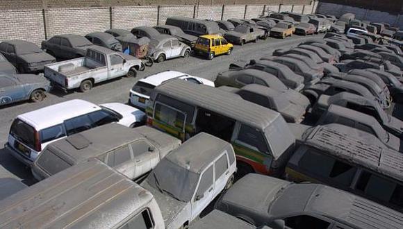 Autos en desuso (Foto: Perú21)