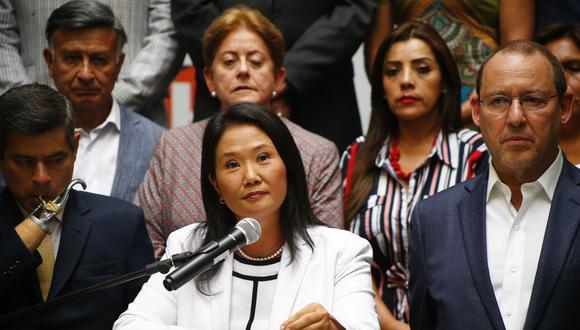 Fujimori negó haberse reunido con el vocal supremo César Hinostroza (Luis Centurión).