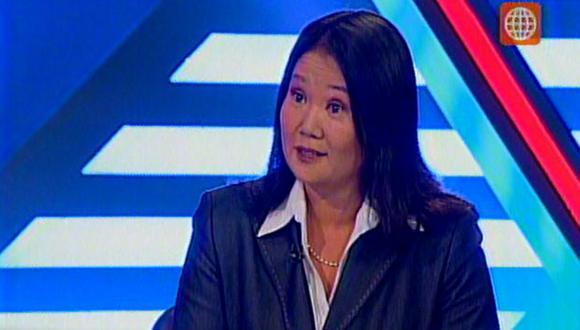Lideresa de Fuerza Popular habló sobre entrevista de Ollanta Humala. (Captura de TV)
