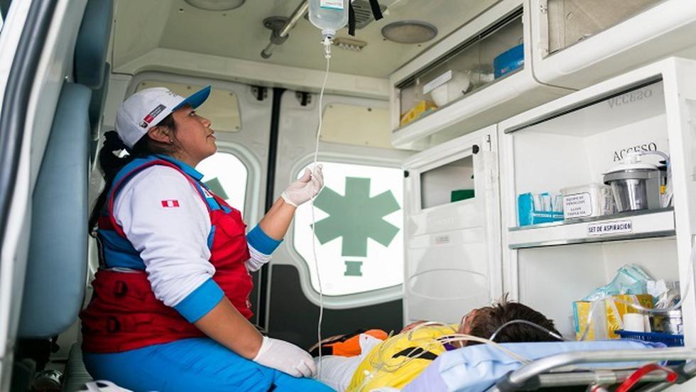 El Ministerio de Salud (Minsa) informó que el Servicio de Atención Móvil de Urgencia (SAMU) atenderá las emergencias y urgencias médicas durante estas fiestas de fin de año. (Foto: Minsa)