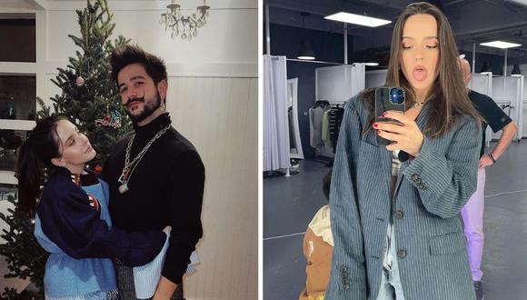 Camilo le preguntó a Evaluna Montaner cuándo podrían hacer una nueva canción juntos. (Foto: Instagram / @evaluna / @camilo).