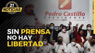 """Perú Libre impulsa peligrosa iniciativa de """"Ley de Medios"""""""