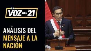 Análisis del Mensaje a la Nación del Presidente Vizcarra