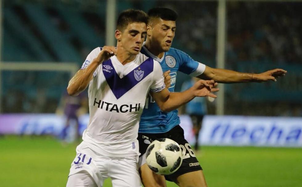 Velez rescató un empate al final del partido. (Vélez/Twitter)