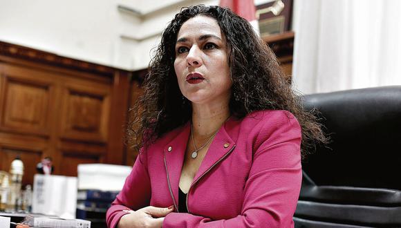 Cecilia Chacón de Vettori. Congresista de Fuerza Popular. (Perú21)