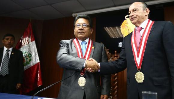 Carlos Ramos Heredia es el nuevo fiscal de la Nación. (Rafael Cornejo)