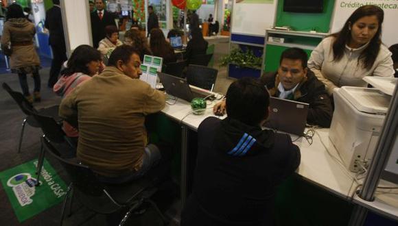Participación de los créditos hipotecarios disminuyó 1% en marzo. (Perú21)