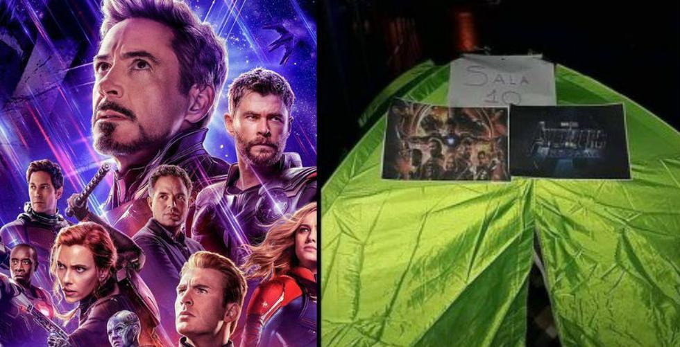 Fanáticos de Marvel acampan a las afueras de un cine en Bolivia. (Foto: Marvel/Facebook)
