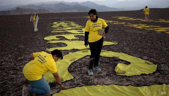 Greenpeace se defendió de críticas. (Facebook)