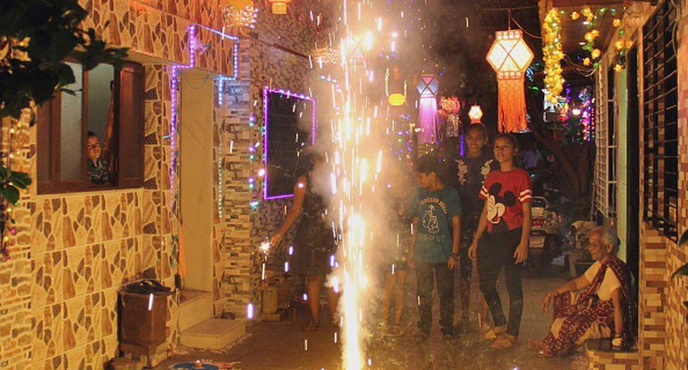 Juegos artificiales - niños quemados (Foto: Getty)