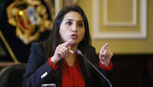 Ana Solórzano negó que haya impedido peritaje a equipo. (Perú21)