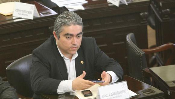 Marco Antonio Zevallos fue uno de los 22 regidores revocados en marzo del 2013. (Perú21)