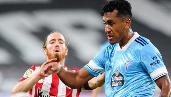 Renato Tapia ha jugado 12 partidos en lo que va de LaLiga. (Foto: Celta de Vigo)