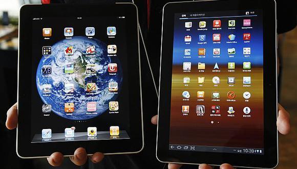 Disputa legal se debe a las similitudes entre el iPad y el Samsung Galaxy Tab. (Reuters)