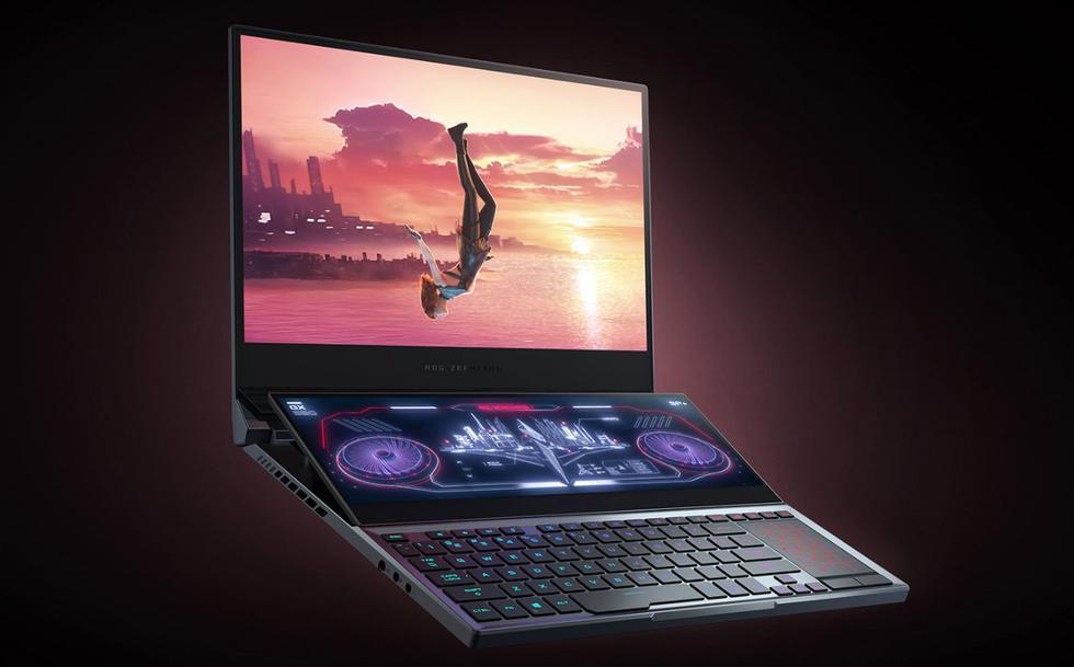 La nueva ROG Zephyrus Duo 15: La primera laptop de doble pantalla para gaming