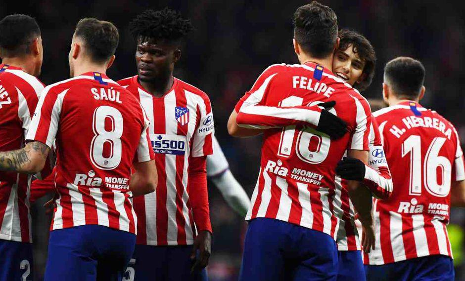 Atlético de Madrid vs. Eibar se enfrentan en la jornada 20 de la Liga Santander. (Foto: AFP)