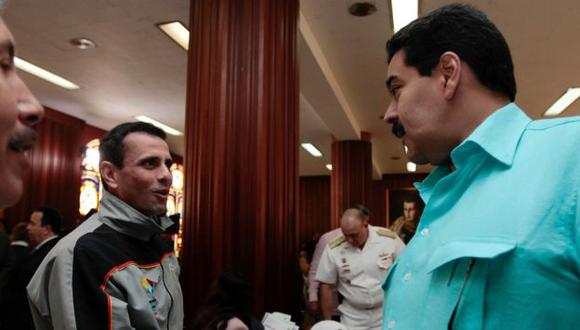 Se pone fuerte. Opositor Henrique Capriles sostiene que hay un desgobierno en Venezuela. (AP)
