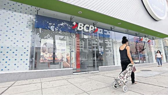 Lo siguieron. Empresario sacó dinero de agencia bancaria ubicada en centro comercial La Rambla. (Anthony Niño de Guzmán/Perú21)
