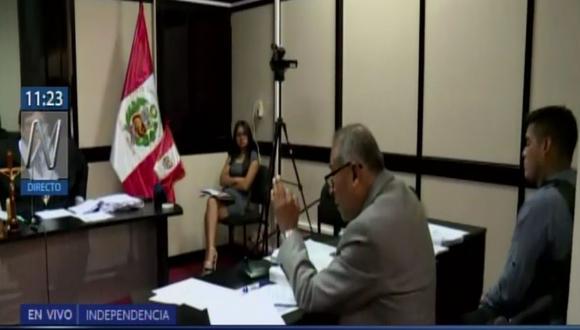 Poder Judicial define si policía afrontará prisión preventiva de seis meses por atropellar a una menor en Puente Piedra. (Captura: Canal N)