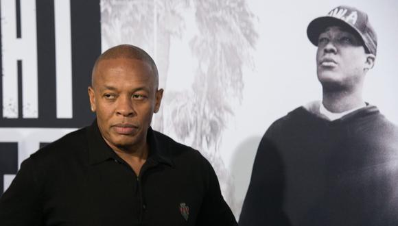 """Dr. Dre tras ser ingresado al hospital por un aneurisma cerebral: """"Estoy recibiendo un cuidado excelente"""". (Foto: VALERIE MACON/AFP)"""