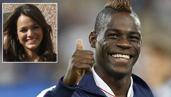 Mario Balotelli le puso el ojo a Bruna Marquezine. (Reuters)