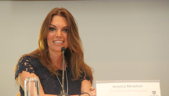 Jessica Newton aseguró que enviará a Laura Spoya a participar en el Miss Universo. (USI)