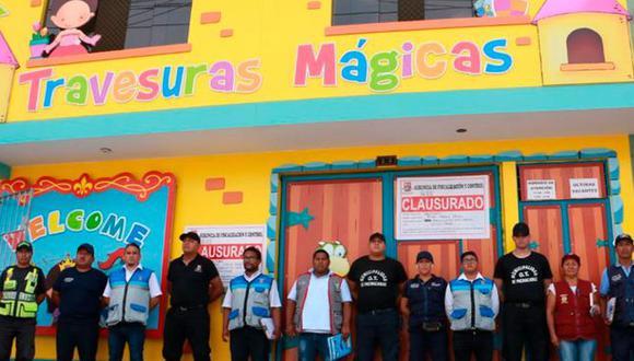 """La medida se aplicó a los colegios """"Travesuras Mágicas"""", """"San Isidro"""" y """"Mi Mundo Feliz"""", considerados de grave riesgo por no contar con infraestructuras seguras. (Foto: Municipalidad de Pachacámac)"""