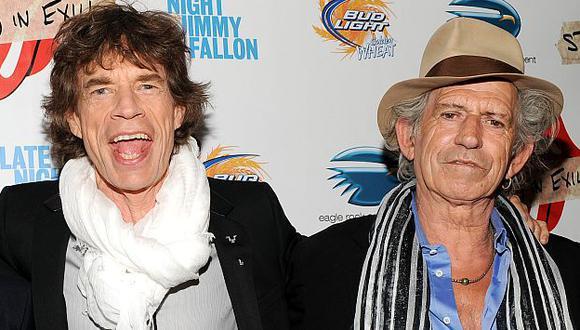 Antes de la gira, Mick Jagger y Keith Richards tendrán que amistarse. (AP)