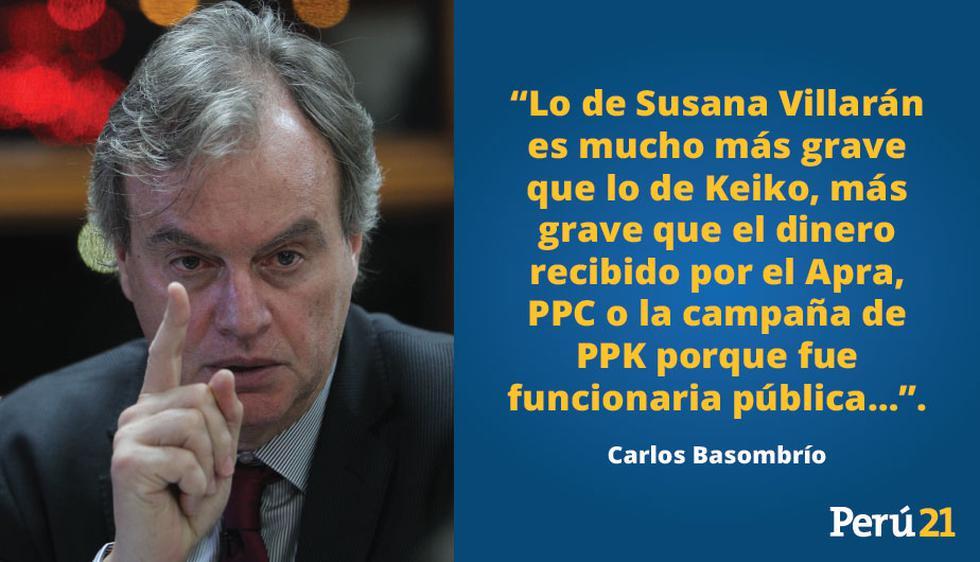 Entrevista Carlos Basombrío,  exministro del Interior.