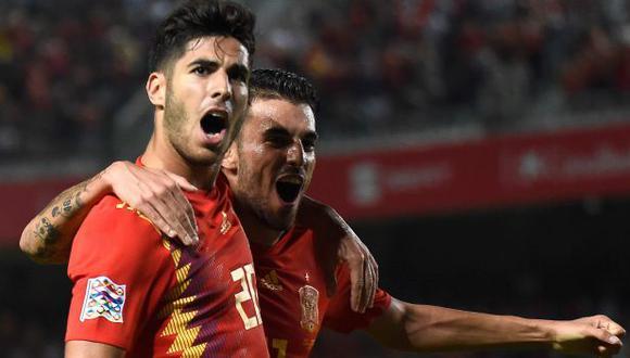 España vs. Croacia se miden por la fecha 5 de la UEFA Nations League. (Foto: AFP)