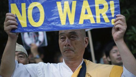 Japón aprueba histórica y polémica modificación de su Constitución. (EFE)