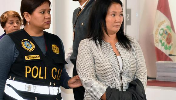 Fujimori cumple prisión preventiva desde noviembre del 2018.