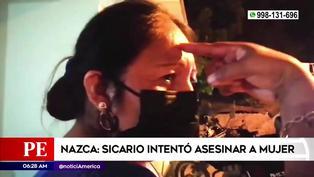Ica: mujer se salva de ataque de sicario que se le trabo el arma