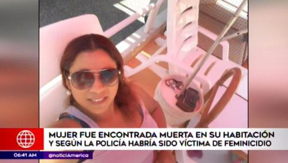 La víctima era madre de dos niñas. (Foto: América Noticias)