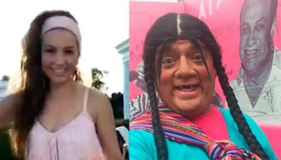Video compartido por el comediante Jorge Benavides como la Paisana Jacinta tiene más de 10 mil compartidas. (Captura: Facebook)