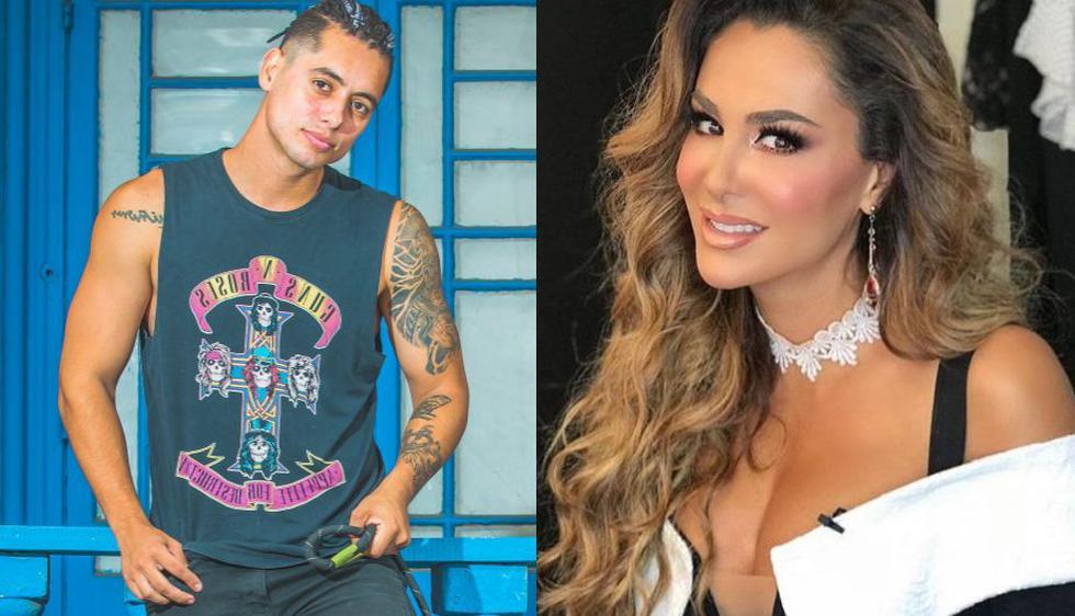 Patricio Quiñones bailó al lado de la exitosa cantante y actriz Ninel Conde. (USI7Instagram)