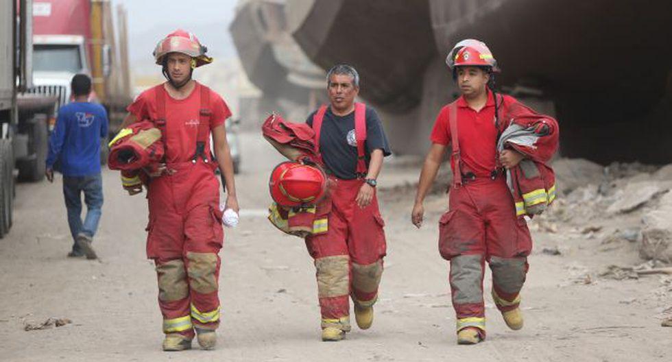 El Cuerpo General de Bomberos Voluntarios del Perú ahora es una dependencia del Mininter. (USI)