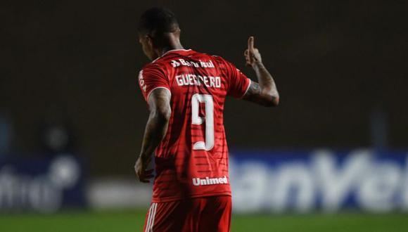 Paolo Guerrero no anotaba gol desde el 16 de agosto del 2020. (Foto: SC Internacional)
