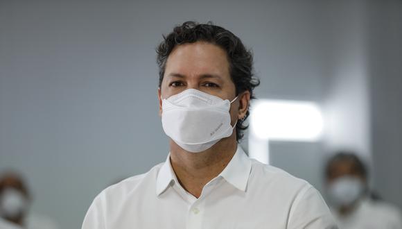 """No es un tema ideológico, es como vacunamos más rápido. Nadie está tratando de ganar votos"""", señaló Daniel Salaverry. (Foto: GEC)"""