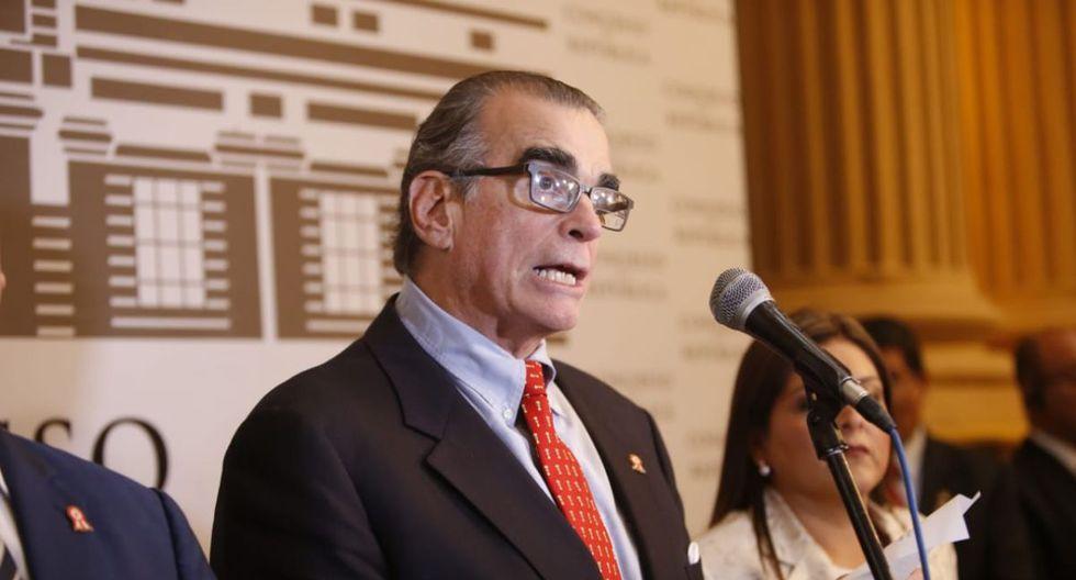 Pedro Olaechea presentó demanda competencial contra el Ejecutivo ante el Tribunal Constitucional. (GEC)