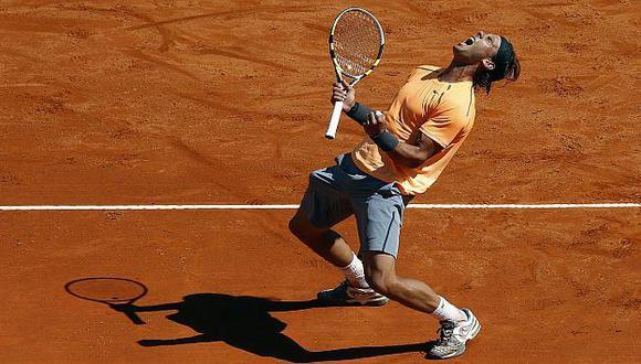 MONARCA. Nadal jugó un gran partido y derrotó a un Djokovic que estuvo lejos de su nivel. (Reuters)