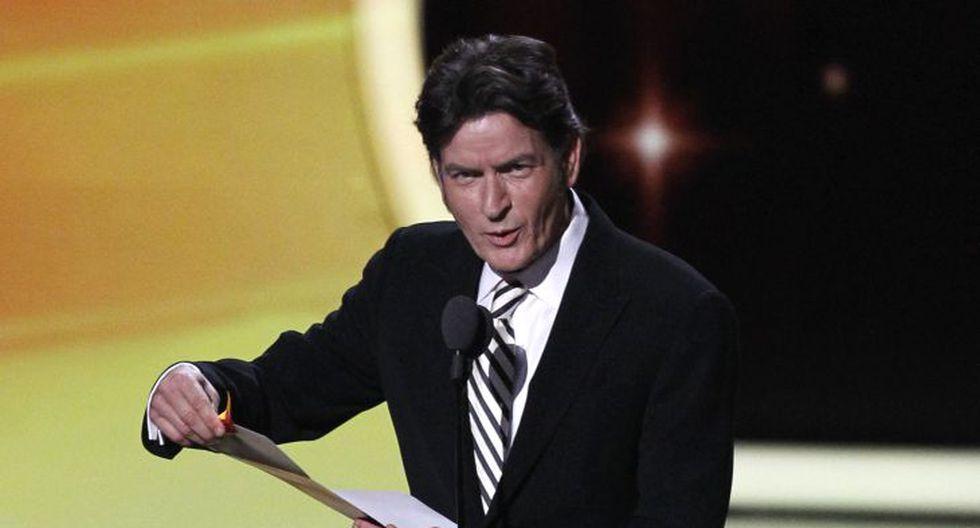 Charlie Sheen (48 años, 'Anger Management') también ocupa el puesto nueve con US$10 millones. (Reuters)